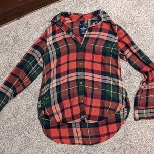 American Eagle Women's Flannel